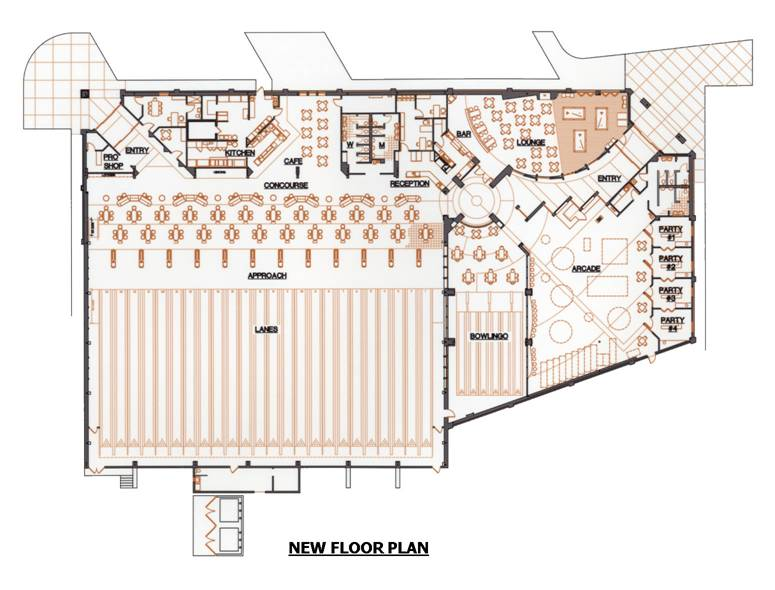 Invest in mini bowling Bowling alley floor plans
