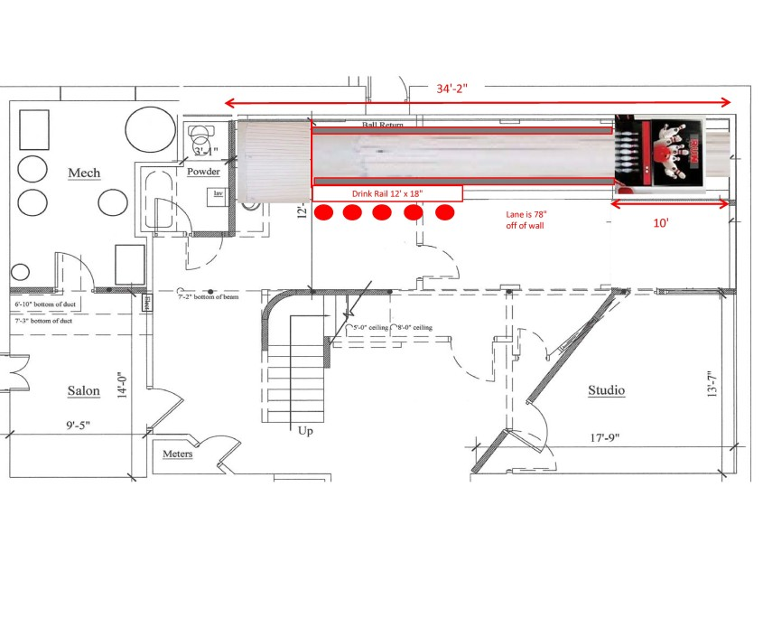 fire truck dimensions diagram home bowling residential bowling dyi bowling installations bowling ball dimensions diagram