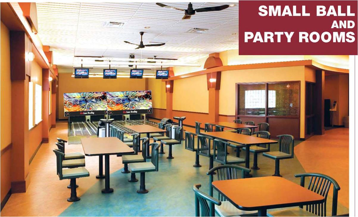 Small Ball Party Room
